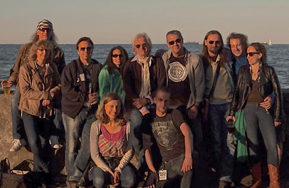 Friends from Poland with TWB & KBN staff, Gosia & Max • On the Baltic @ Gdynia Fest May 2015