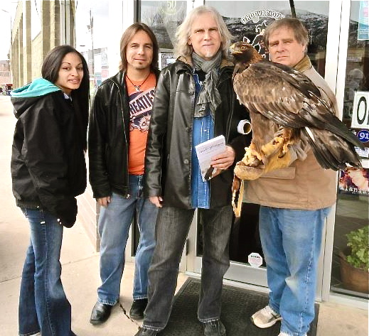 Dude there's a big bird on your arm! Cedar City, UT