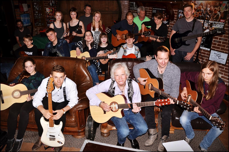 guitar students @ HRP Pamela - Poland