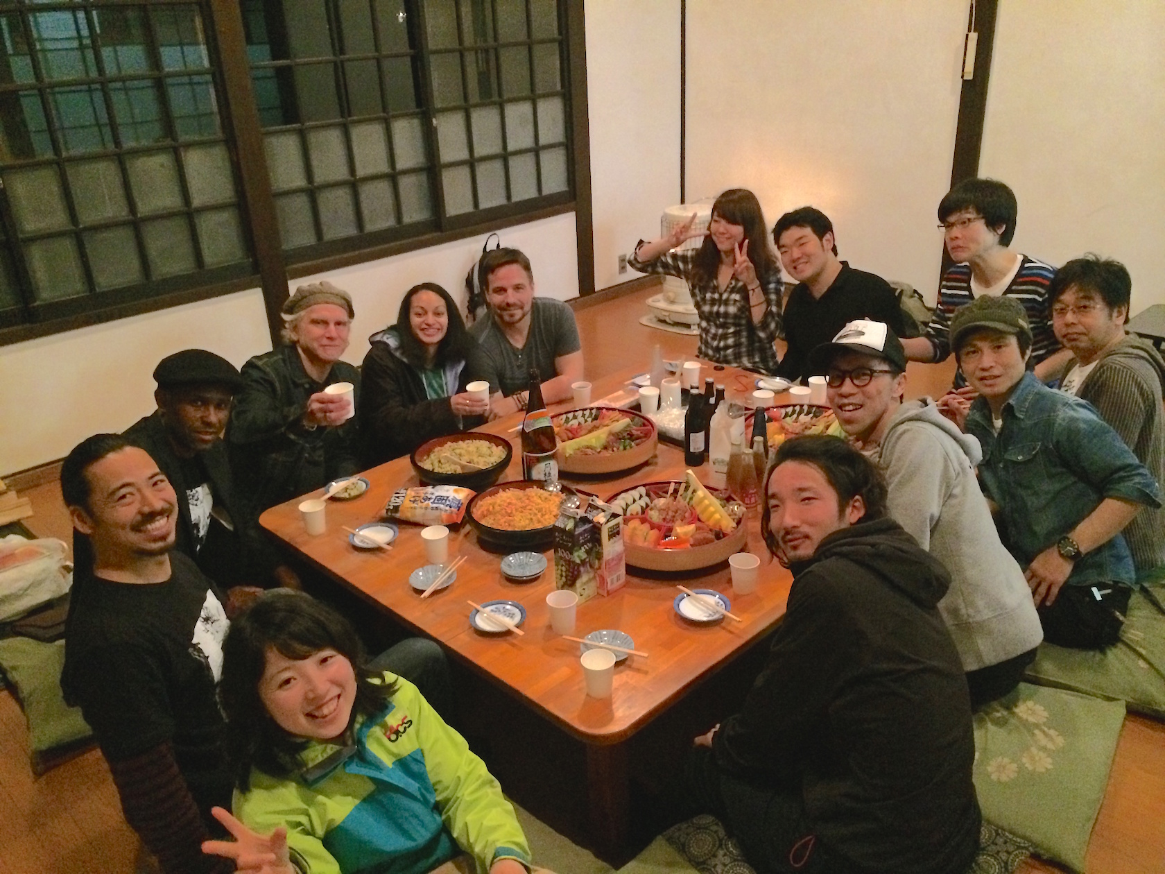 Japanese dinner with friends
