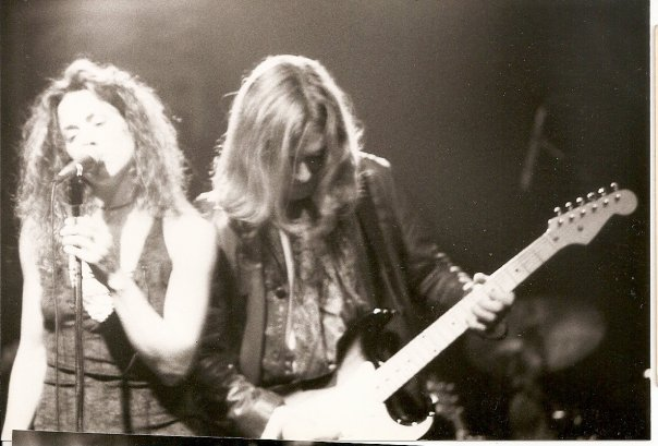 Todd with Sheryl Crow 1993