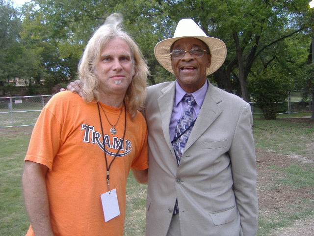 Todd with Hubert Sumlin