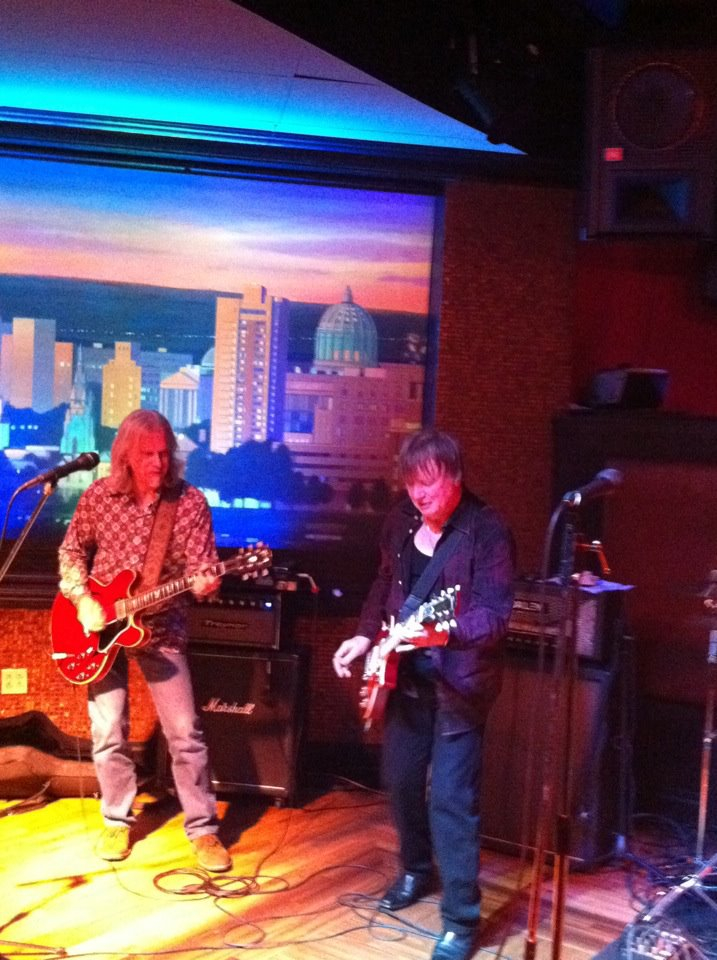 Todd sitting in with Kim Simmonds & Savoy Brown