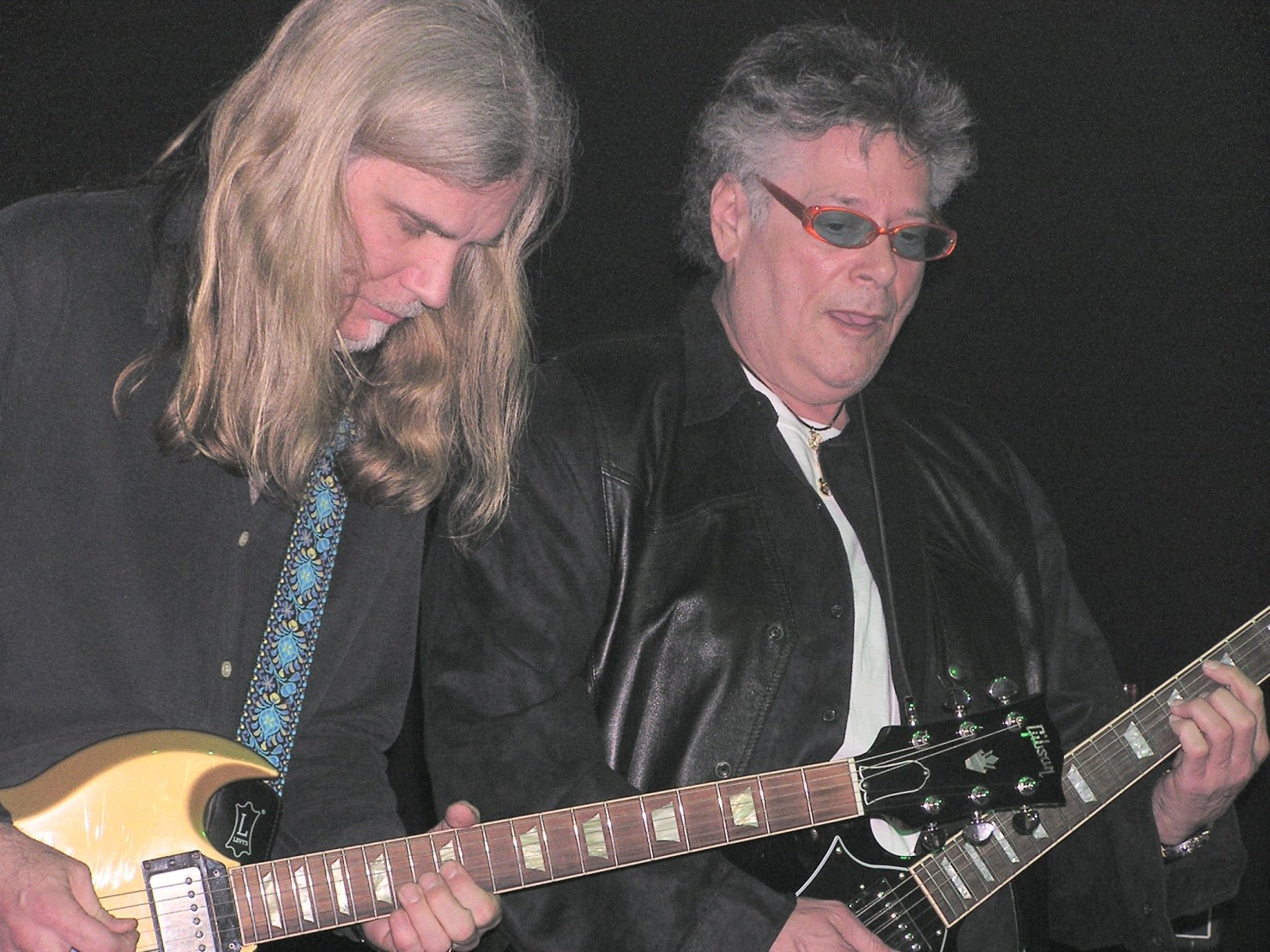 Todd on tour with Leslie West