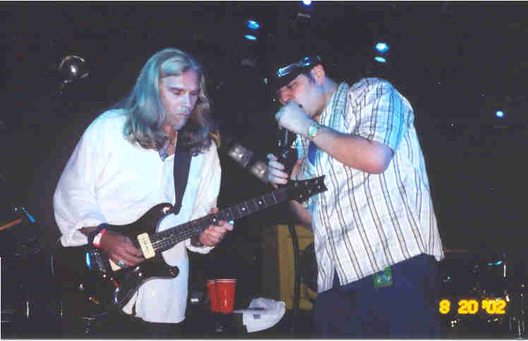 Todd with John Popper